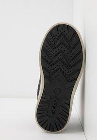 Geox - MATTIAS BOY ABX - Šněrovací kotníkové boty - navy/dark grey - 5