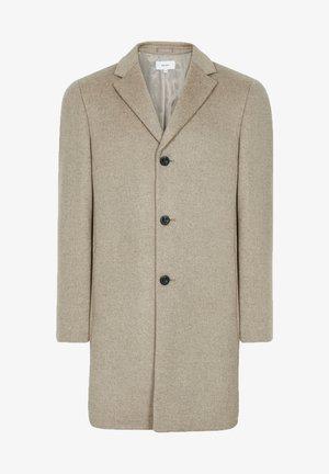 GABLE - Classic coat - natural