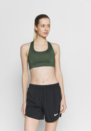 ICONIC SPORTS BRA - Medium support sports bra - northern green