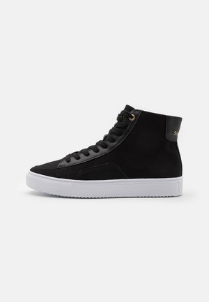 SANTA MONICA - High-top trainers - black