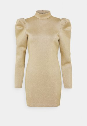 DIAMOND DRESS - Shift dress - gold-coloured