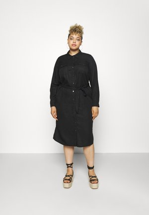 VMSALLY LONG DRESS - Sukienka koszulowa - black
