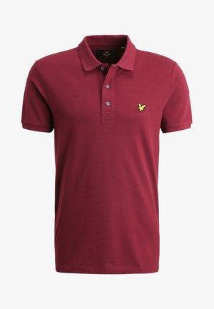 PLAIN  - Polo shirt - claret jug