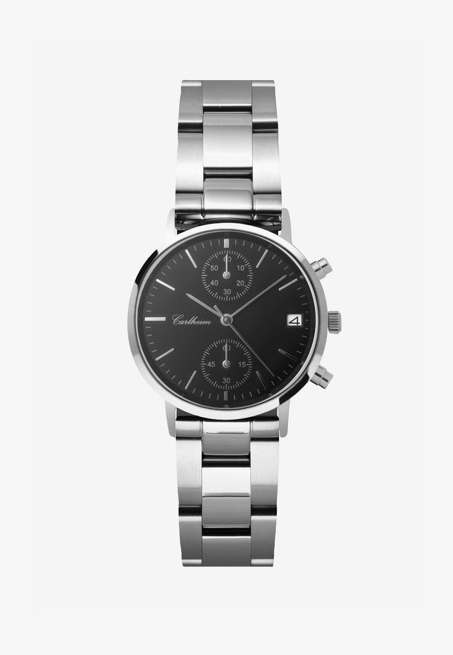 TILFREDSHED 34MM - Chronograaf - silver-black