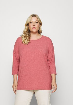 CARLAMOUR  - Long sleeved top - mauvewood