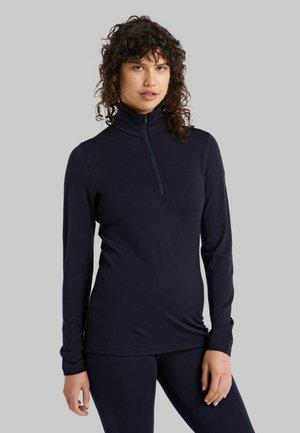 TECH - Long sleeved top - midnight navy