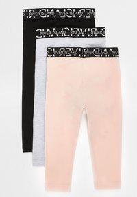River Island - 3 PACK - Leggings - Trousers - pink - 1