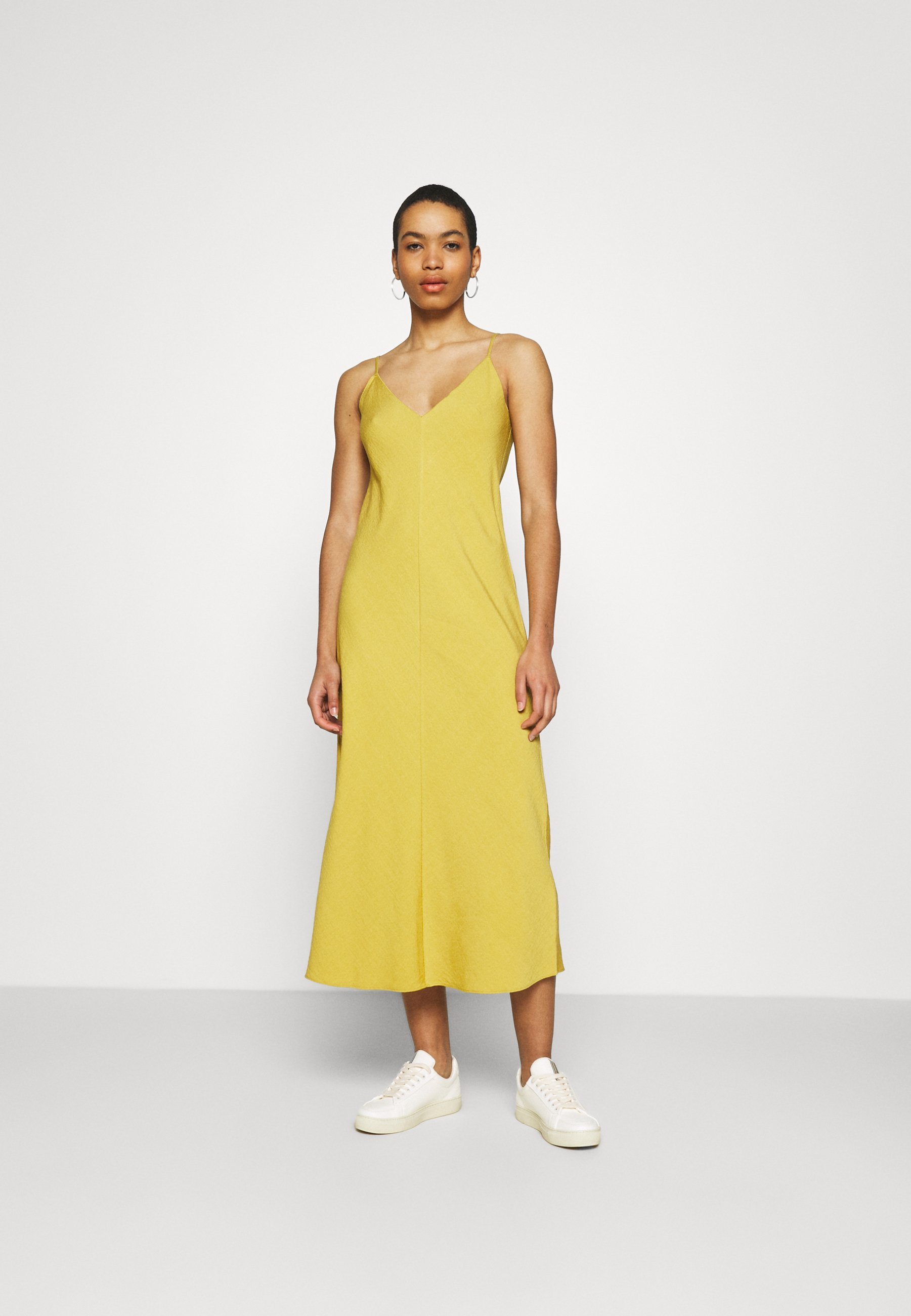 Women V NECK MERROW EDGE SHEATH - Day dress