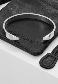 Northskull - THE END CUFF - Armband - silver-coloured - 5