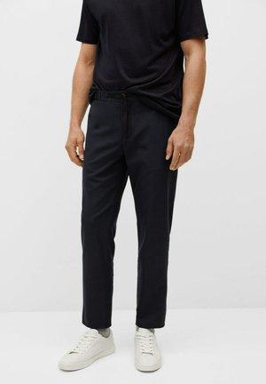 BERGAMO - Trousers - dark navy