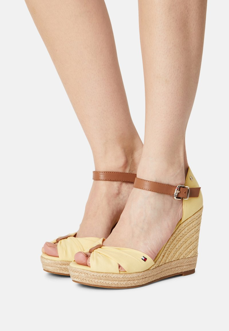 Tommy Hilfiger - ELENA - High heeled sandals - delicate yellow