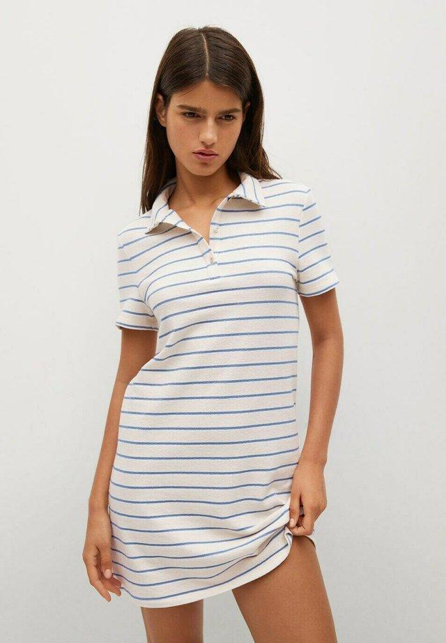 Skjortklänning - ecru