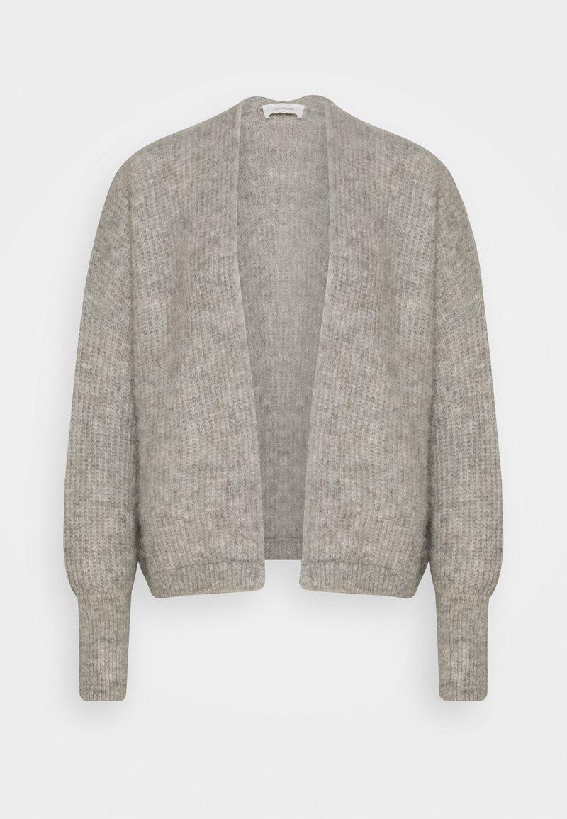 American Vintage - EAST - Cardigan - gris chine