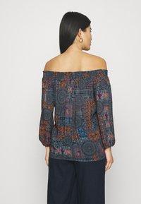 Desigual - KALIMA - Long sleeved top - blue - 2