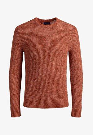 JORGROOVE - Pullover - Burnt Ochre