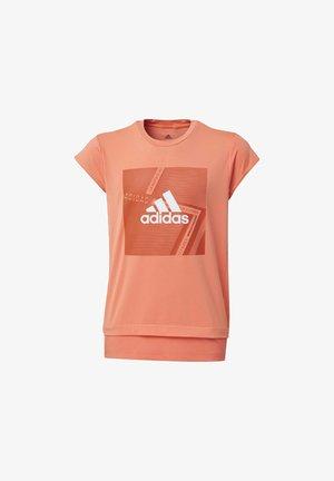 BRANDED T-SHIRT - T-shirt print - orange