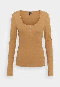 Vero Moda - Long sleeved top - tobacco brown - 0