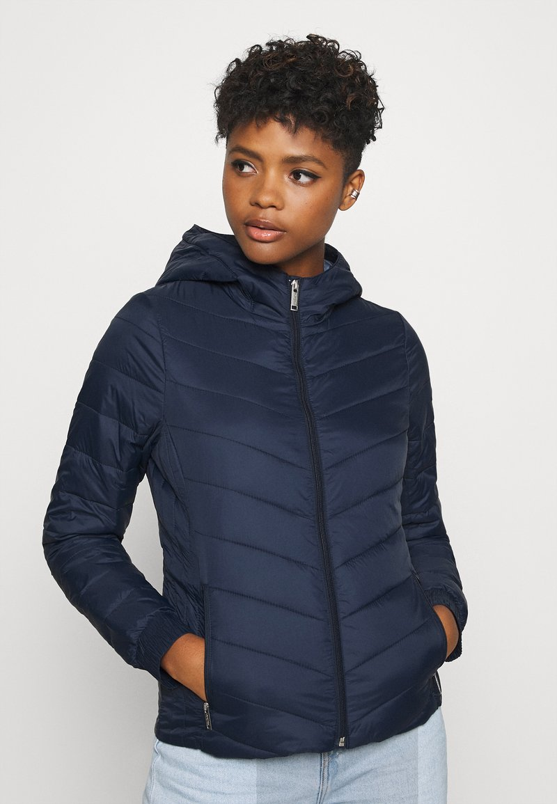Hollister Co. - LIGHTWEIGHT PUFFER - Light jacket - navy