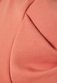 Closet - CAP SLEEVE SKATER DRESS - Day dress - dusty pink - 2