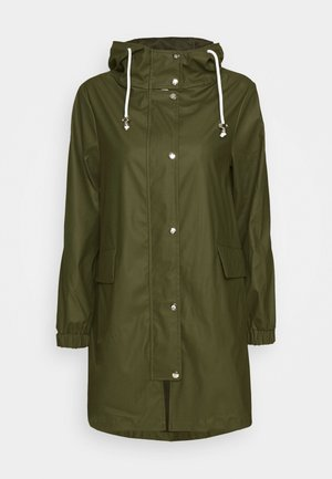 RAINCOAT - Waterproof jacket - green