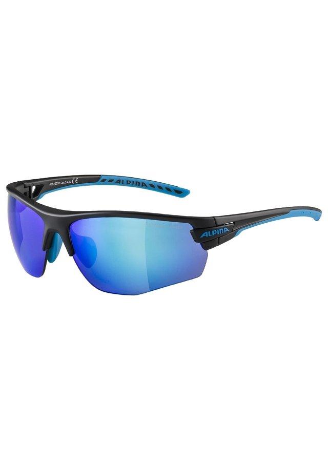 Sports glasses - black matt-cyan (a8642.x.31)