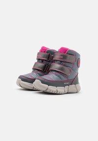 Geox - FLEXYPER GIRL - Winter boots - silver - 1