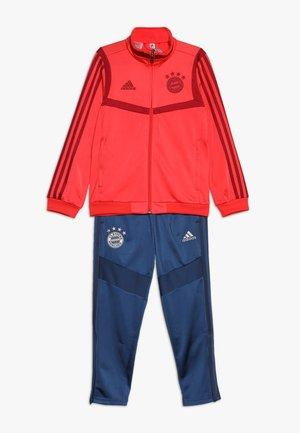 FC BAYERN MÜNCHEN PES SUIT Y - Club wear - bright red/night marine