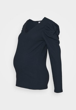 MLKIRE - Long sleeved top - navy blazer