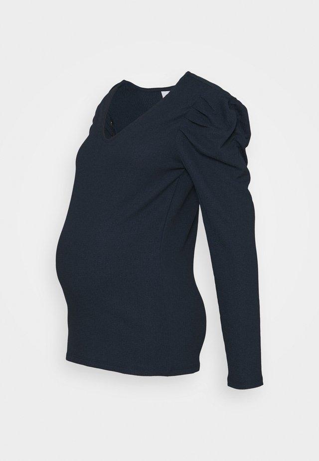 MLKIRE - Long sleeved top - navy blazer