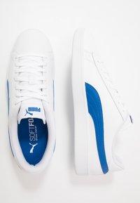 Puma - SMASH UNISEX - Sneakers laag - white/lapis blue - 1
