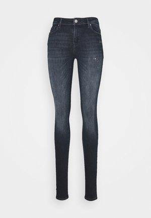 ONLSHAPE LIFE REG SKINNY  - Jeans Skinny Fit - blue / black