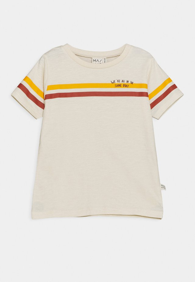 HELMSMAN UNISEX - T-shirts med print - off-white