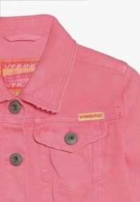 Vingino - TOSCANE - Denim jacket - neon pink - 4