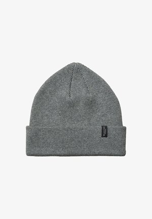 Beanie - medium grey melange