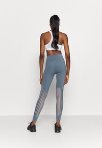 adidas Performance - Leggings - legend blue/green tint - 2