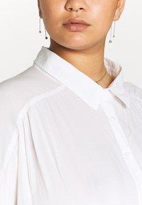 Cotton On Curve - CURVE EPIC TIE FRONT SHIRT - Blouse - white - 6