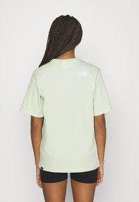 The North Face - EASY TEE - Printtipaita - green mist - 2