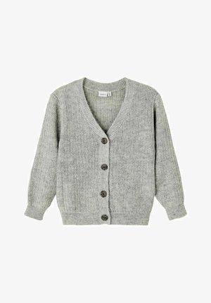 LANGÄRMELIGE - Cardigan - grey melange