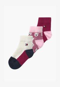 Tommy Hilfiger - BABY BEAR GIFTBOX 3 PACK - Ponožky - pink - 0