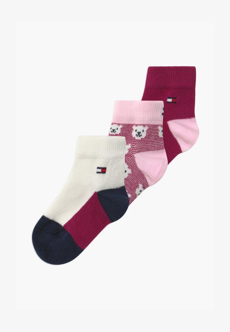 Tommy Hilfiger - BABY BEAR GIFTBOX 3 PACK - Ponožky - pink