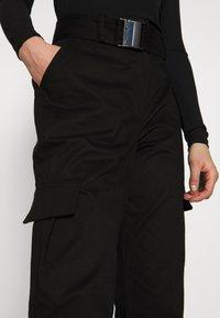 NA-KD - Erica Kvam x NA-KD - Pantalones - black - 3