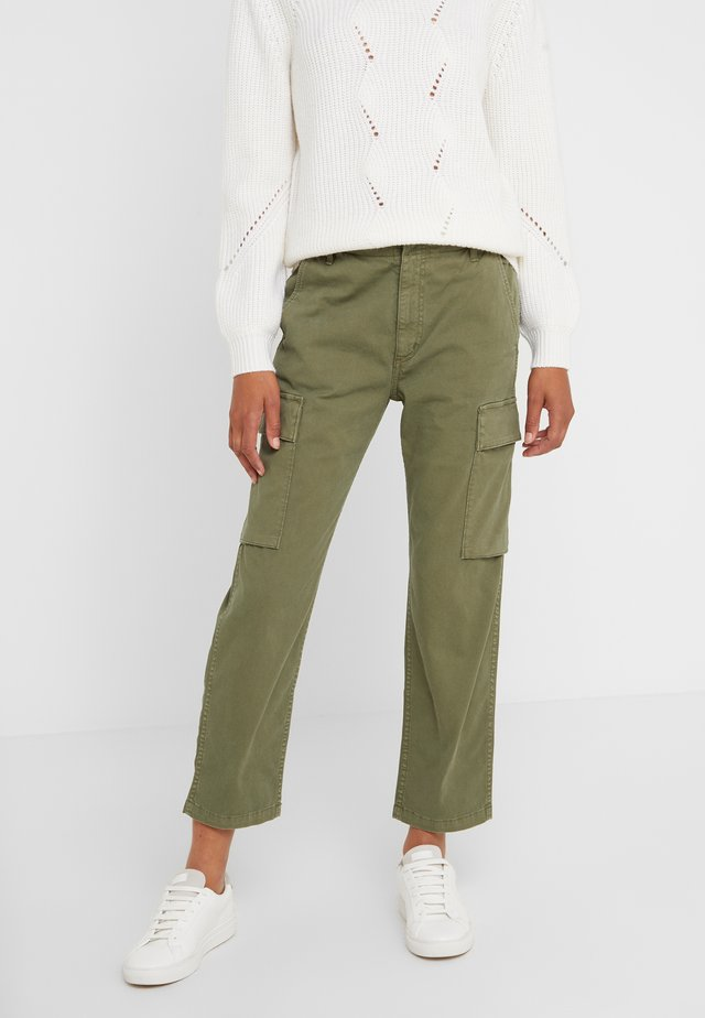 GAIA PANT - Trousers - army green