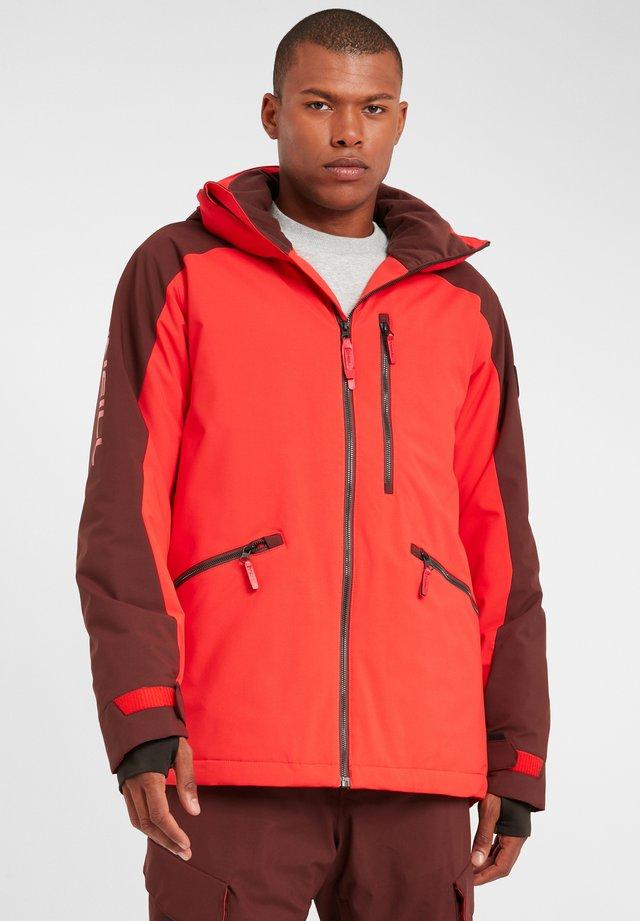 DIABASE  - Veste de snowboard - fiery red