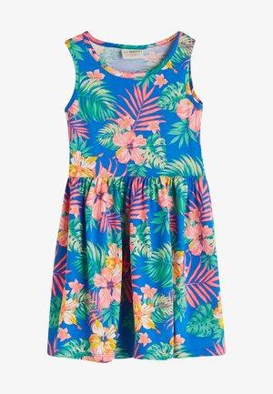 Day dress - electric blue pr