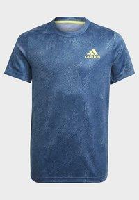 adidas Performance - Camiseta estampada - blue - 2