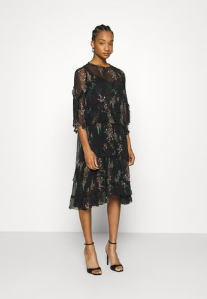 MACEY MELISMA DRESS - Day dress - black