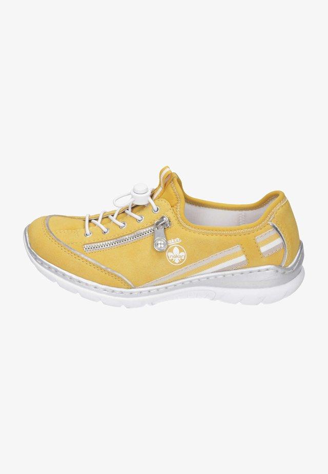 Baskets basses - gelb/argento/gelb