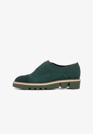 Loaferit/pistokkaat - green