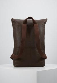 Zign - UNISEX LEATHER - Reppu - dark brown - 2