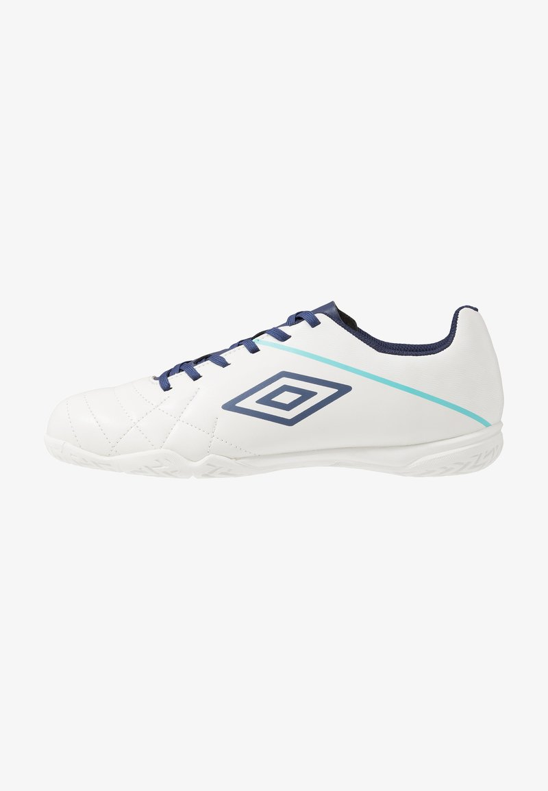 Umbro - MEDUSÆ III LEAGUE IC - Scarpe da calcetto - white/medieval blue/blue radiance